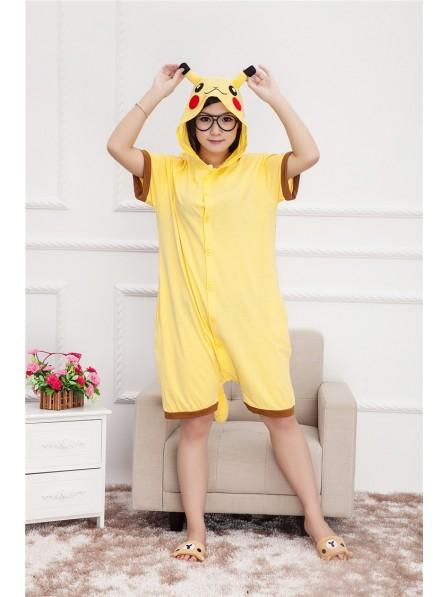 Pikachu Onesie Short Sleeves Pajamas