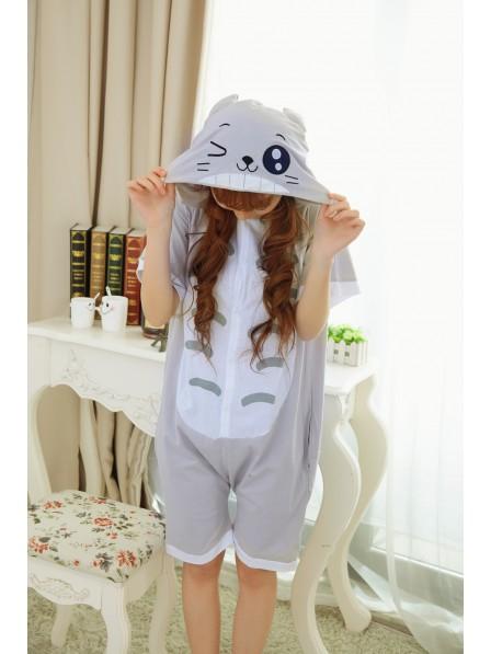 Totoro Onesie Short Sleeves Pajamas