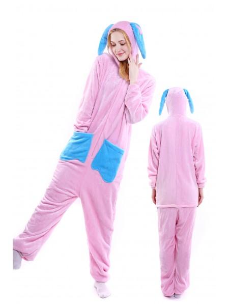 Rabbit Onesie Pajamas Flannel