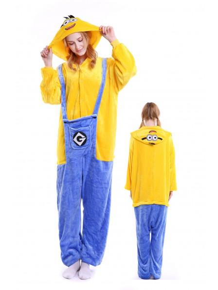 Minions Onesie Pajamas Flannel