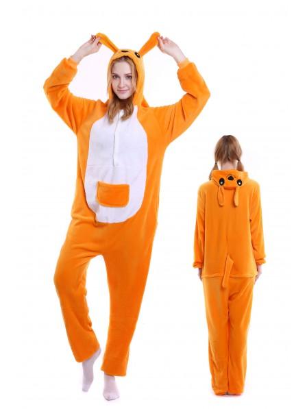 Kangaroo Onesie Pajamas Flannel