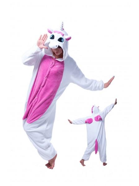 Rose Unicorn Onesie Pajamas Flannel
