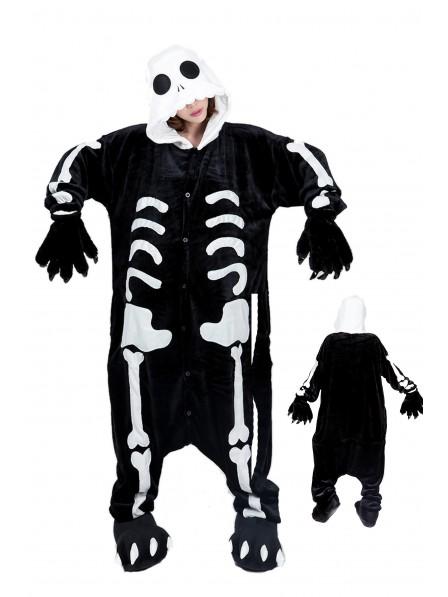 Skeleton Onesie Pajamas Flannel