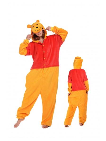 Winnie the Pooh Onesie Pajamas Flannel
