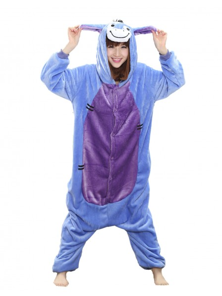 Donkey Onesie Pajamas Flannel