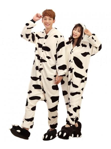 Cow Onesie Pajamas Flannel