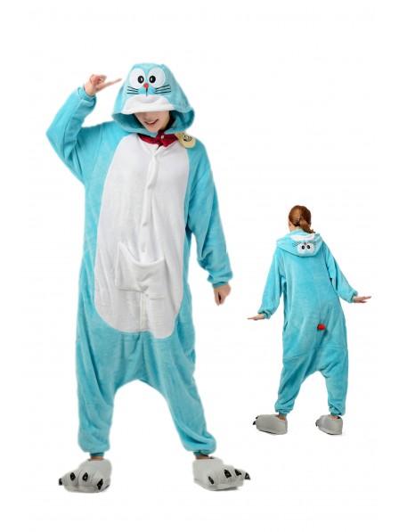 Doraemon Onesie Pajamas Flannel