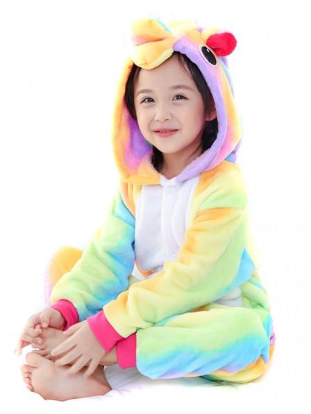 Rainbow Unicorn Onesie Pajamas for Kids