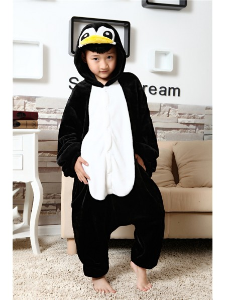 Penguin Onesie Pajamas for Kids