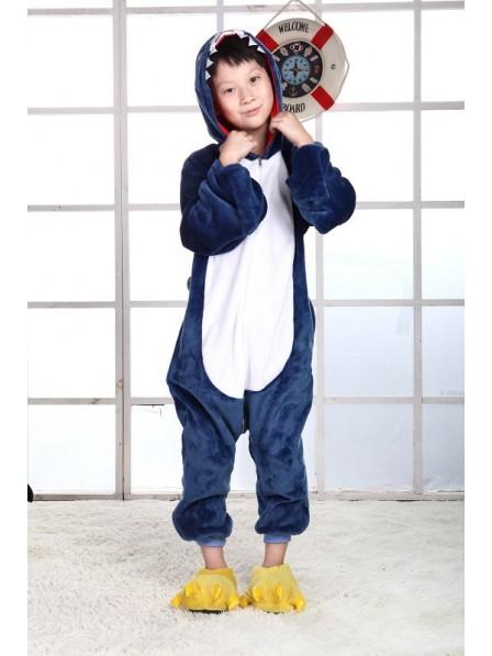 Shark Onesie Pajamas for Kids
