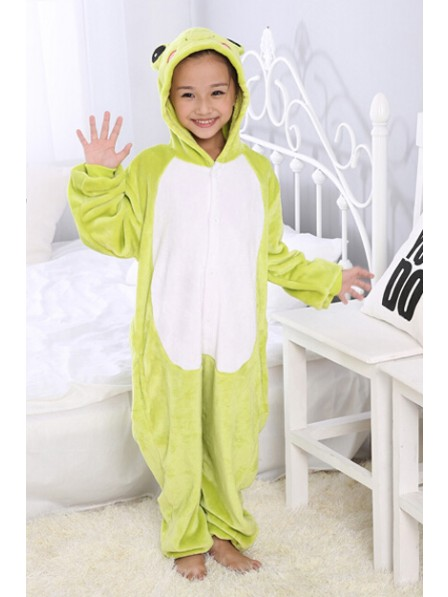 Frog Onesie Pajamas for Kids