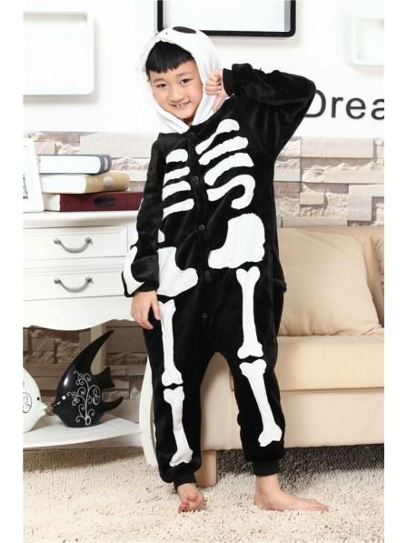 Skeleton Onesie Pajamas for Kids