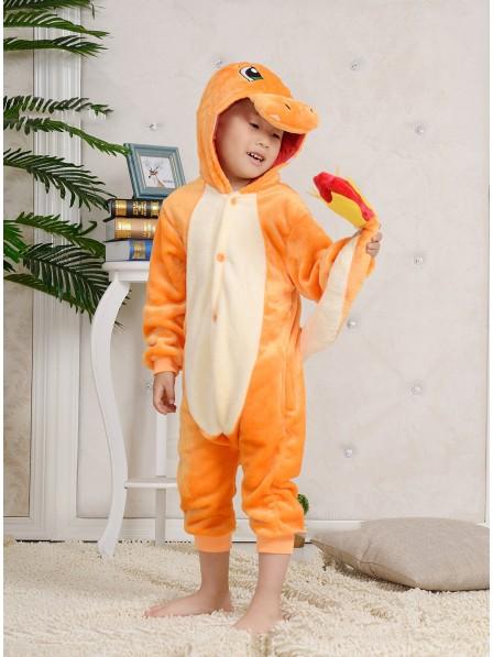 Charmander Onesie Pajamas for Kids
