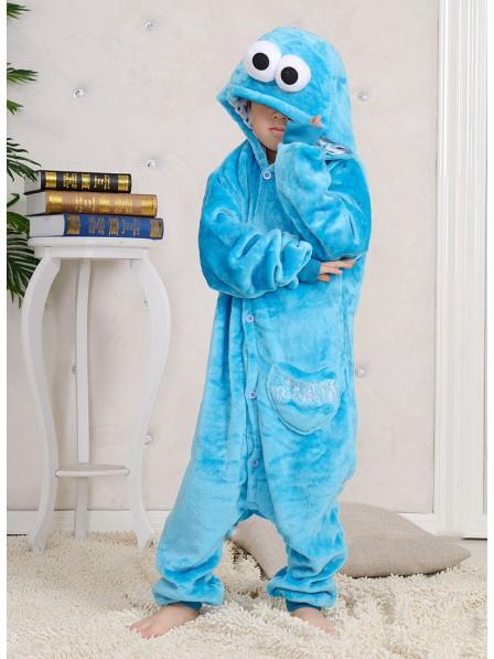 Sesame Street Cookie Monster Onesie Pajamas for Kids