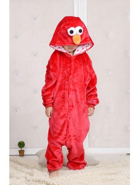 Sesame Street Elmo Onesie Pajamas for Kids