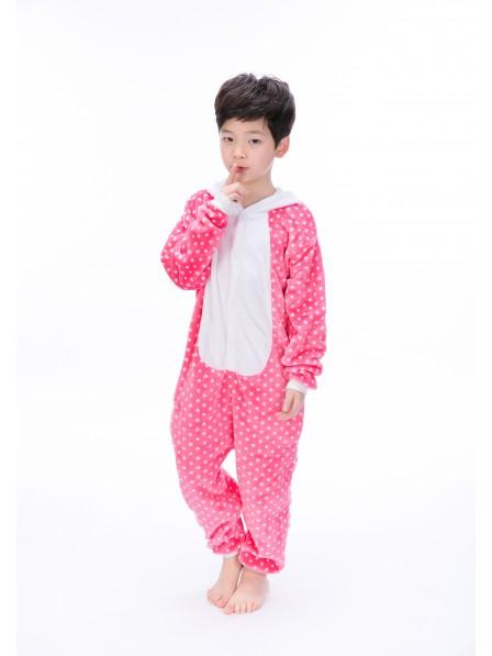 Kitty Cat Onesie Pajamas for Kids