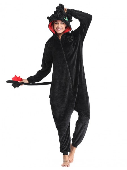 Toothless Onesie Pajamas for Adult Animal Onesies