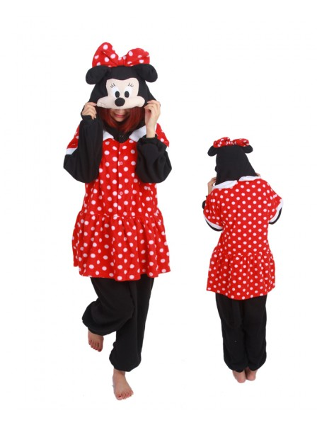 Mickey Onesie Pajamas Polar Fleece