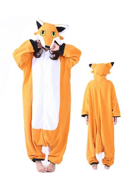 Mister Fox Onesie Pajamas Polar Fleece