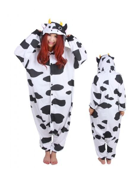 Cow Onesie Pajamas Polar Fleece