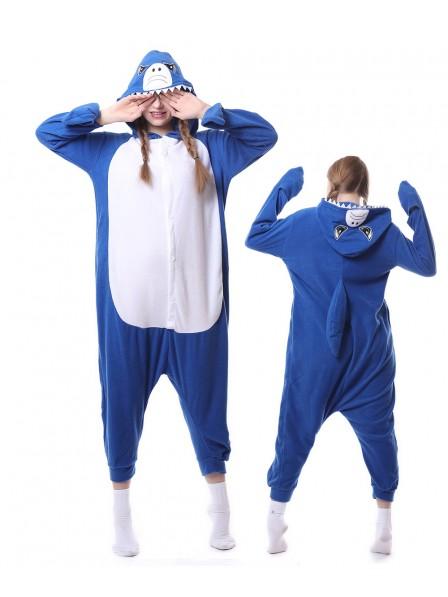 Shark Onesie Pajamas Polar Fleece