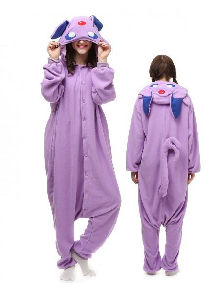 Purple Monster Onesie Pajamas Polar Fleece
