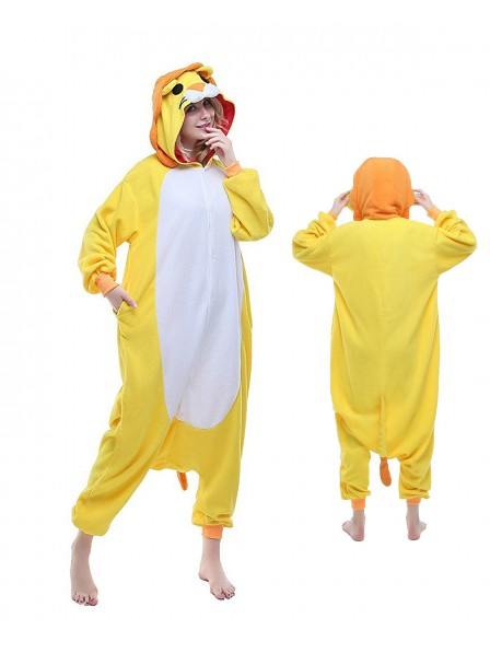 Lion Onesie Pajamas Polar Fleece