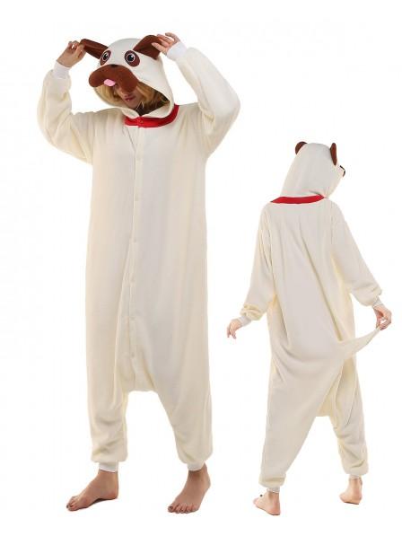 Pug Onesie Pajamas Polar Fleece